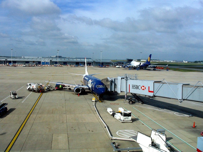 <b>London Stansted</b> i Sky Europe <b>Boeing 737 300</b>